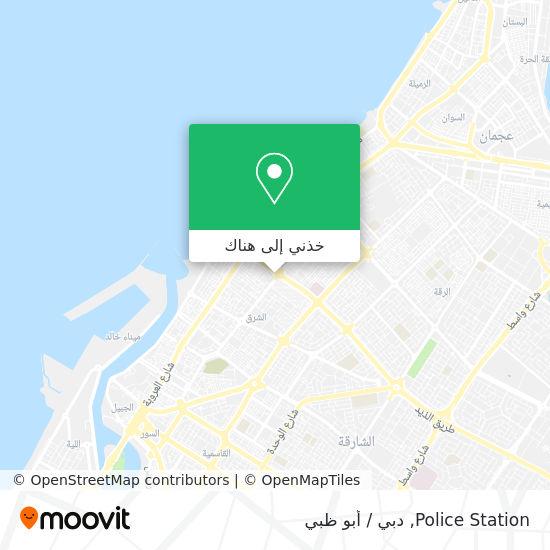 خريطة Police Station
