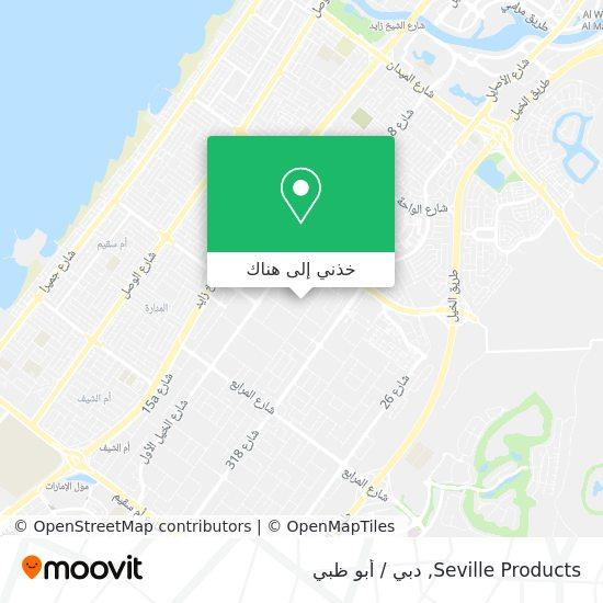 خريطة Seville Products