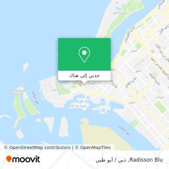 خريطة Hilton Abu Dhabi