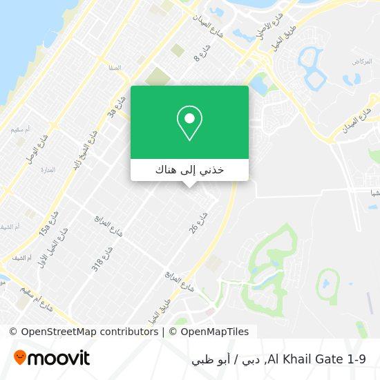 خريطة Al Khail Gate 1-9