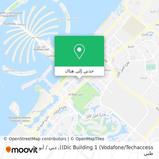 خريطة Dic Building 1 (3i Infotech)