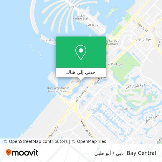 خريطة Bay Central