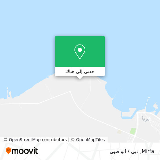 خريطة Mirfa