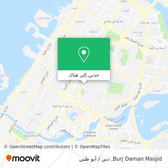 خريطة Burj Daman Masjid