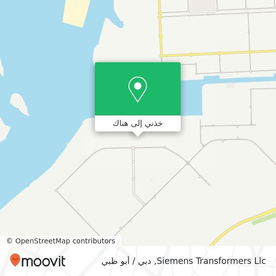خريطة Siemens Transformers Llc