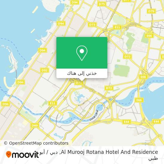 خريطة Al Murooj Rotana Hotel And Residence