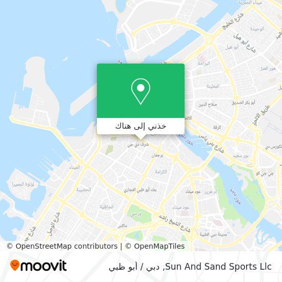 خريطة Sun And Sand Sports Llc