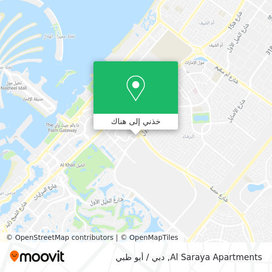 خريطة Saraya