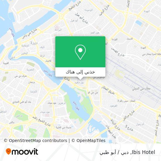 خريطة Ibis Hotel