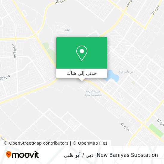 خريطة New Baniyas Substation