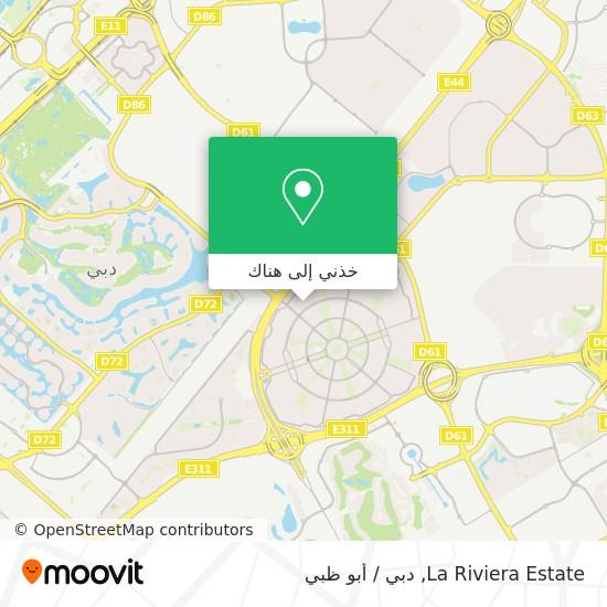خريطة La Riviera Estate
