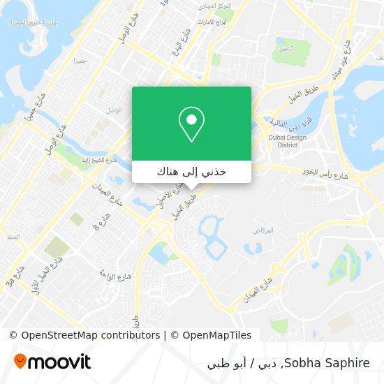 خريطة Sobha Saphire