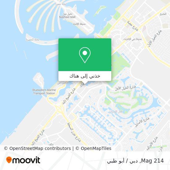 خريطة Mag 214