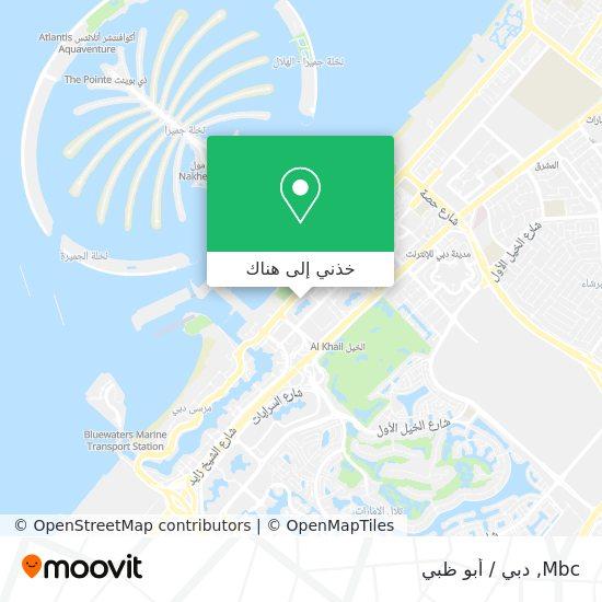 خريطة Mbc