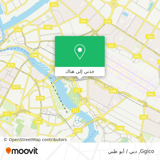 خريطة Ggico