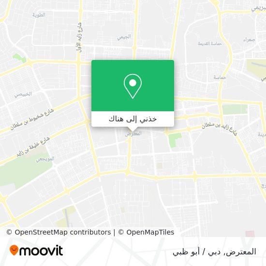 خريطة Al Mutaredh
