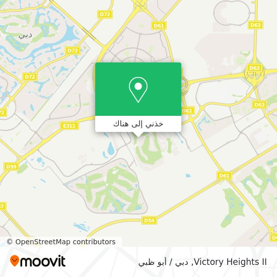 خريطة Victory Heights II