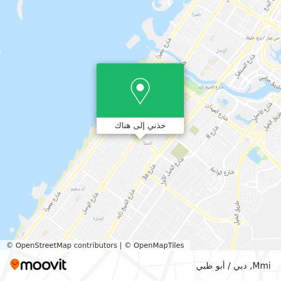 خريطة Mmi