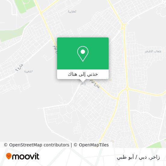 خريطة Zakher