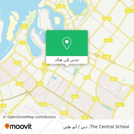 خريطة The Central School