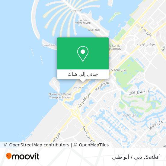 خريطة Sadaf