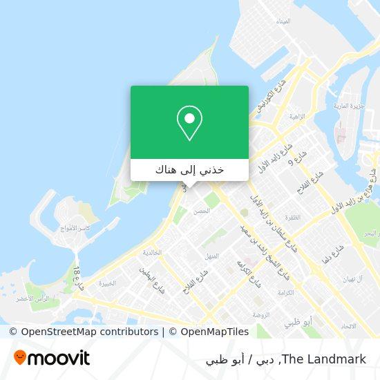 خريطة The Landmark