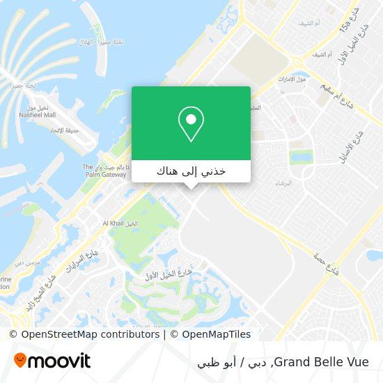 خريطة Grand Belle Vue