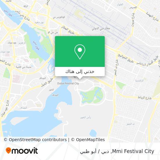 خريطة Mmi Festival City