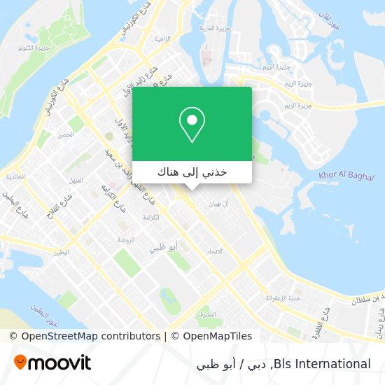خريطة Bls International