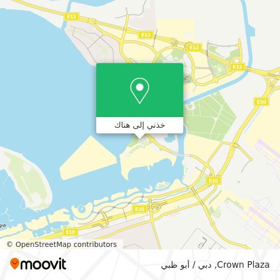 خريطة Crown Plaza