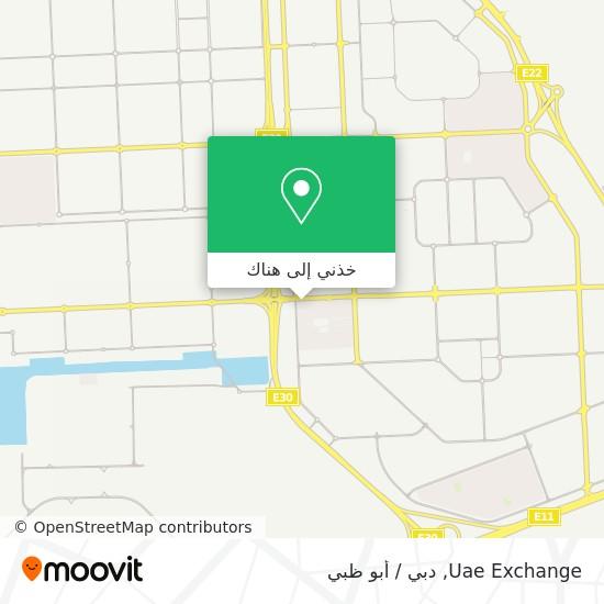 خريطة Uae Exchange