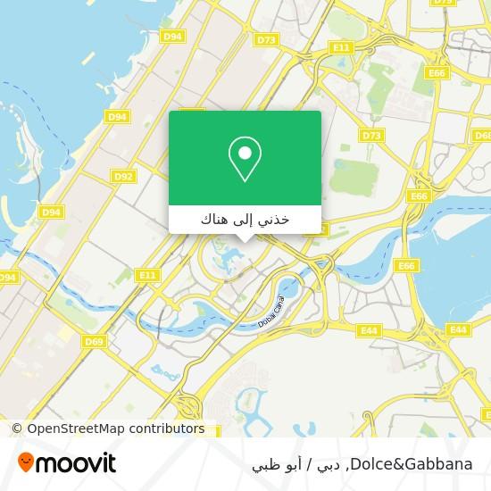 خريطة Dolce&Gabbana
