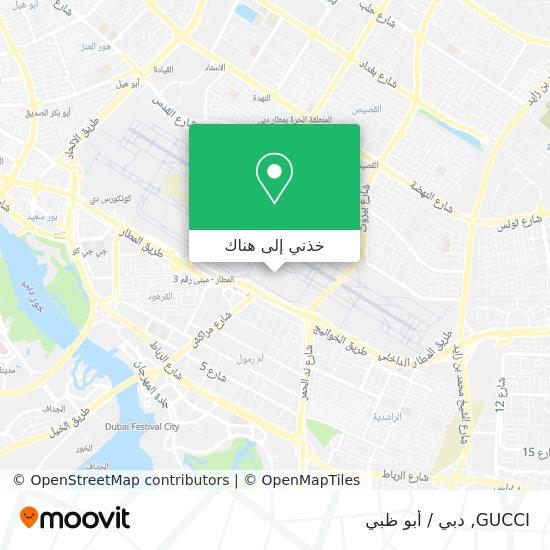 خريطة GUCCI