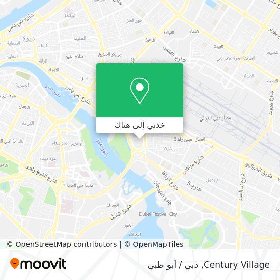 خريطة Century Village