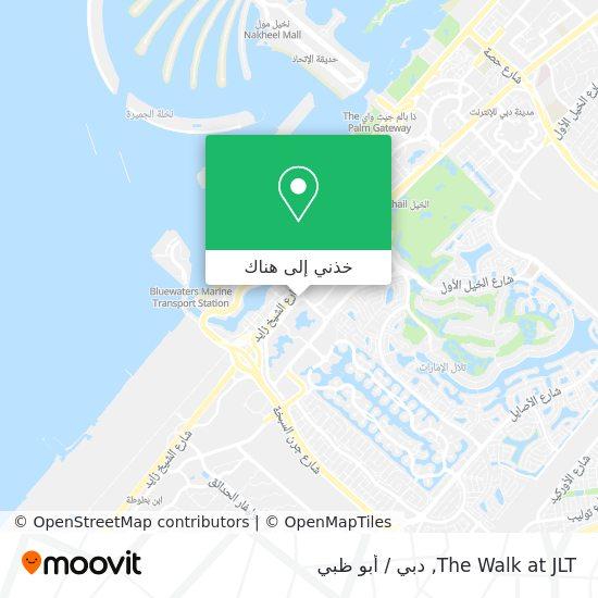 خريطة The Walk at JLT