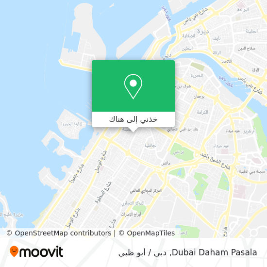 خريطة Dubai Daham Pasala