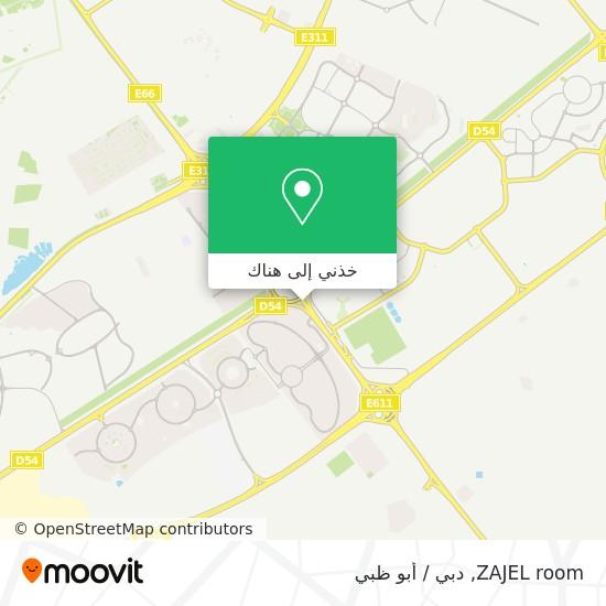 خريطة ZAJEL room