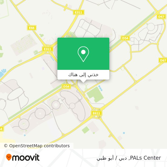 خريطة PALs Center