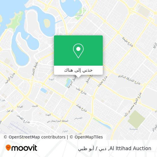 خريطة Al Ittihad Auction