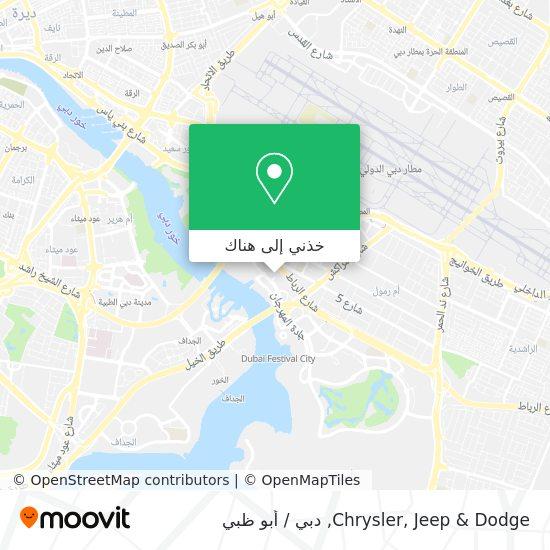 خريطة Chrysler, Jeep & Dodge