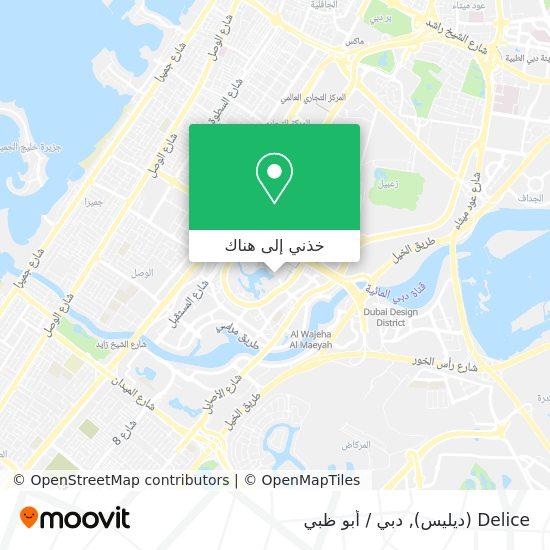 خريطة Delice (ديليس)