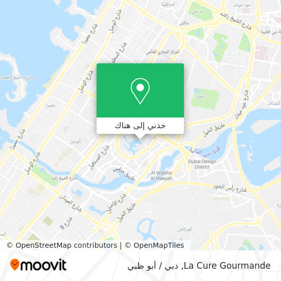 خريطة La Cure Gourmande