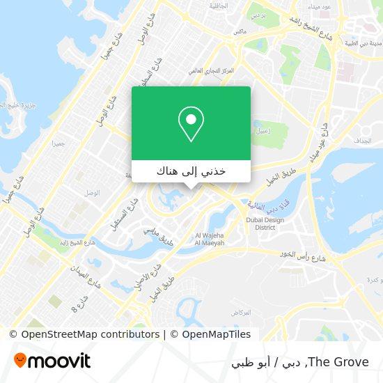 خريطة The Grove