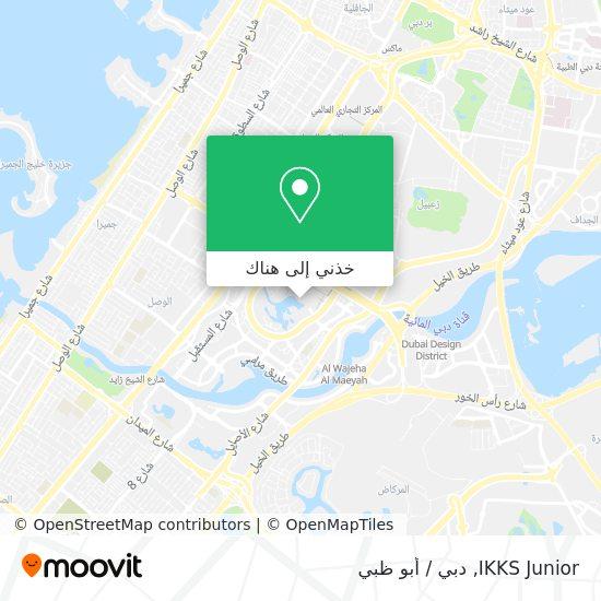 خريطة IKKS Junior