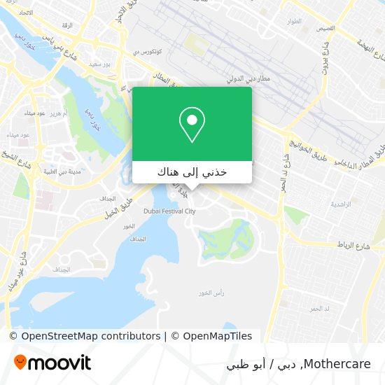 خريطة Mothercare