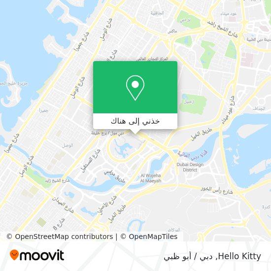 خريطة Hello Kitty