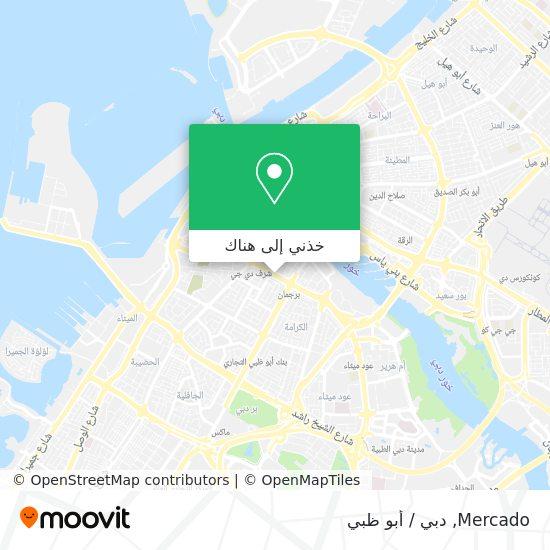 خريطة Mercado