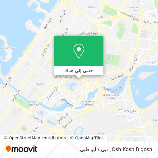 خريطة Osh Kosh B'gosh