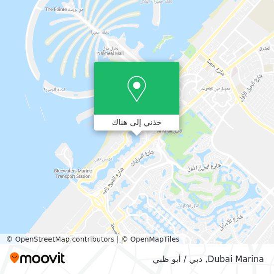 خريطة Dubai Marina