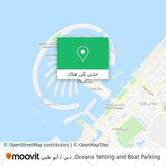خريطة Oceana Yahting and Boat Parking